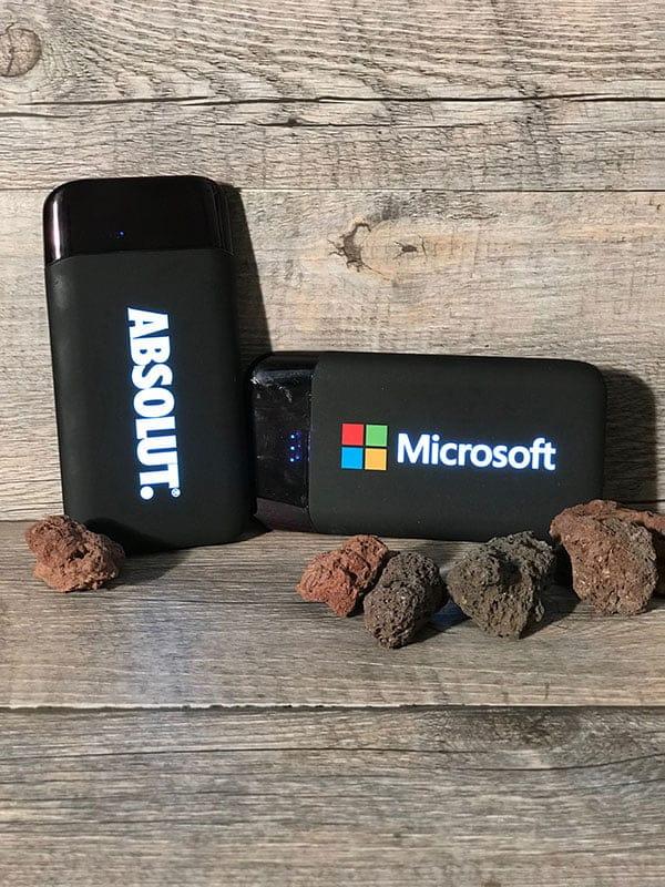 Batterie Externe Personnalisable Lumineuse