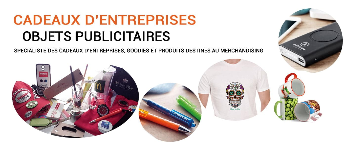 Spécialiste des cadeaux d'entrepirses, objets publicitaires et goodies à Monaco, livraison dans toute l'Europe