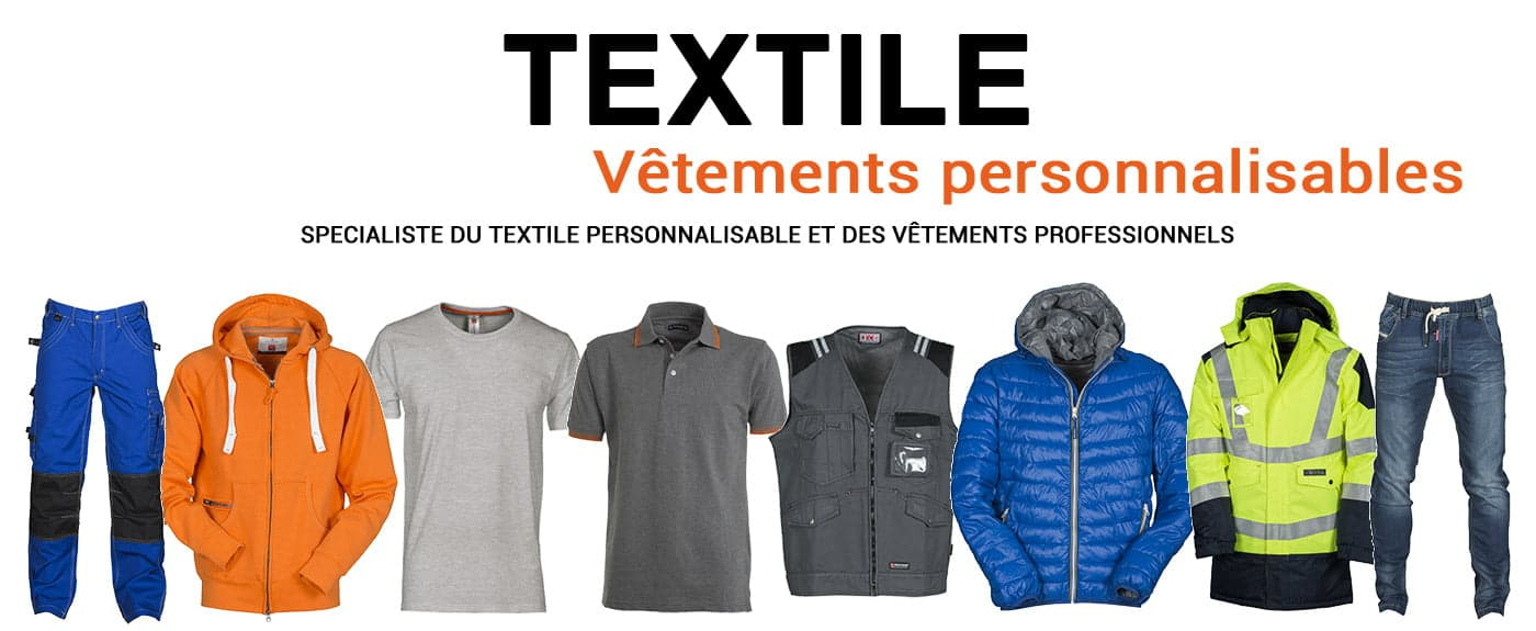 Textile publicitaire personnalisable dezignercom