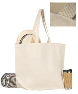 sac publicitaire cabas coton avec marquage de votre logo