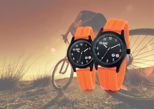 Gamme de montres publicitaires sport