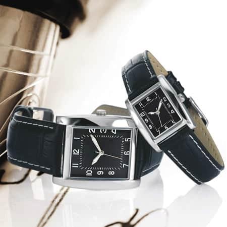 Gamme de montres personnalisables homme et dame pour vos évènements