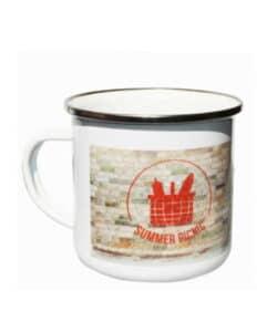 Mug et tasse en acier à personnaliser avec votre logo ou imager