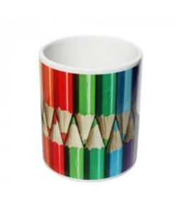 Pot à crayon personnalisable avec votre image ou logo