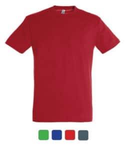 T-shirt publicitaire en couleur à personnaliser