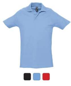 Polo personnalisé avec le marquage de votre logo, polo publicitaire pour entreprise
