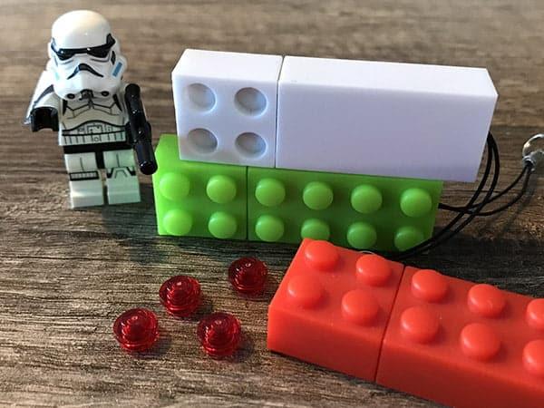 Clé USB publicitaire brique LEGO