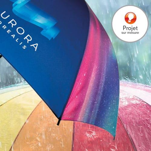parapluie personnalisé sur mesure