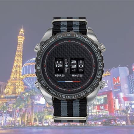 Montre publicitaire Vegas avec personnalisation à partir de 25 pcs chez Dezigner Com