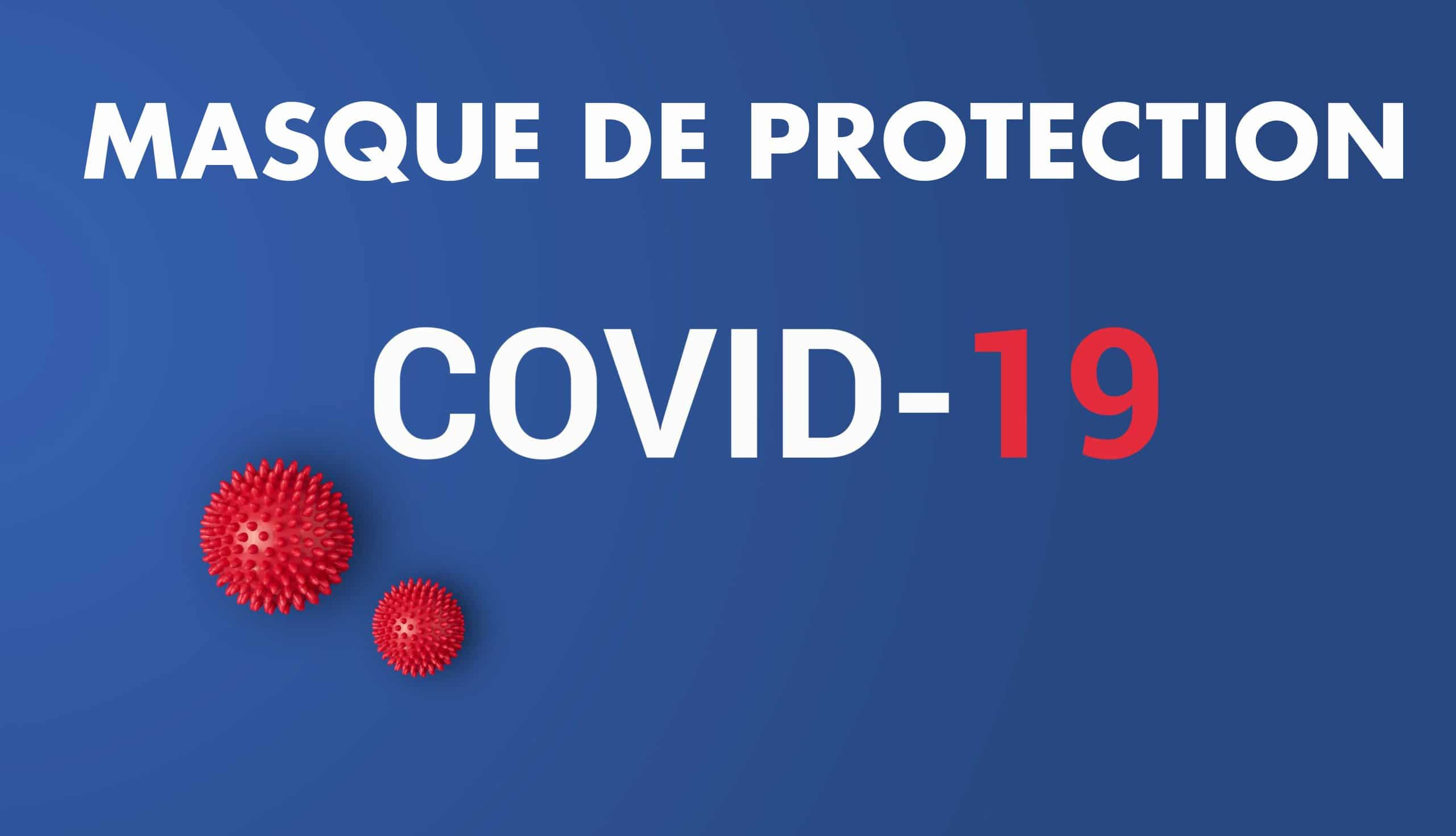 masque de protection tissu covid19